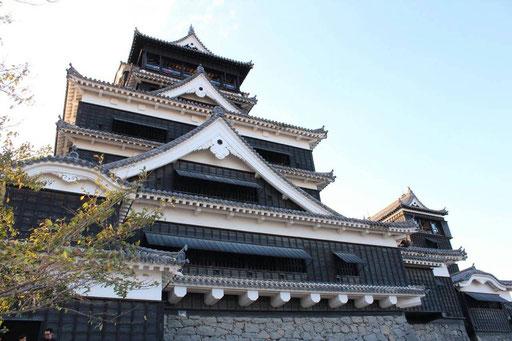 熊本城にて・・・♪