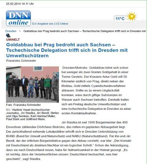 DNN online - Goldabbau