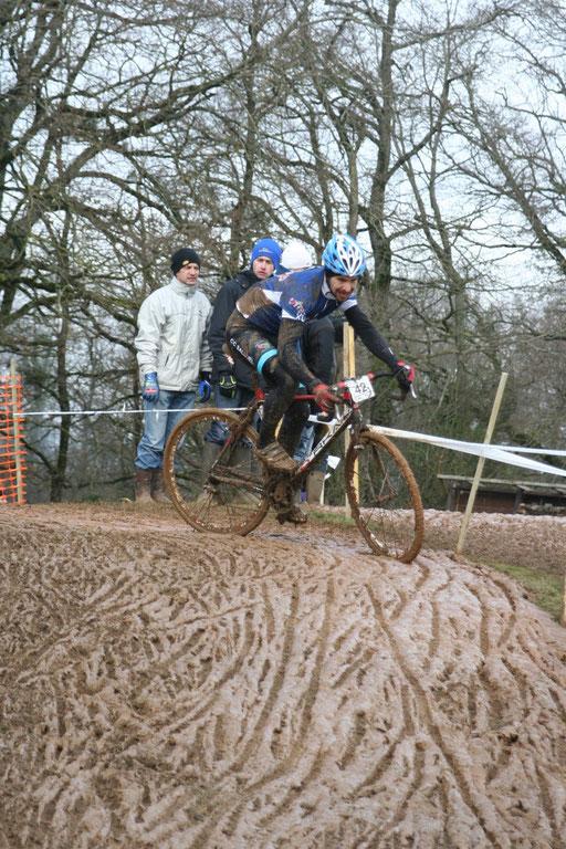 Samuel Bruhier au Championnat National Cyclo-cross Ufolep à Cluis (36) le 3 Février 2013
