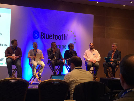 Panel Discussion during Bluetooth Europe 2014