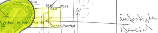 """als """"Einigung"""" vorgeschlagener neu anzulegender """"Standplatz"""" für ein Feuerlöschfahrzeug"""
