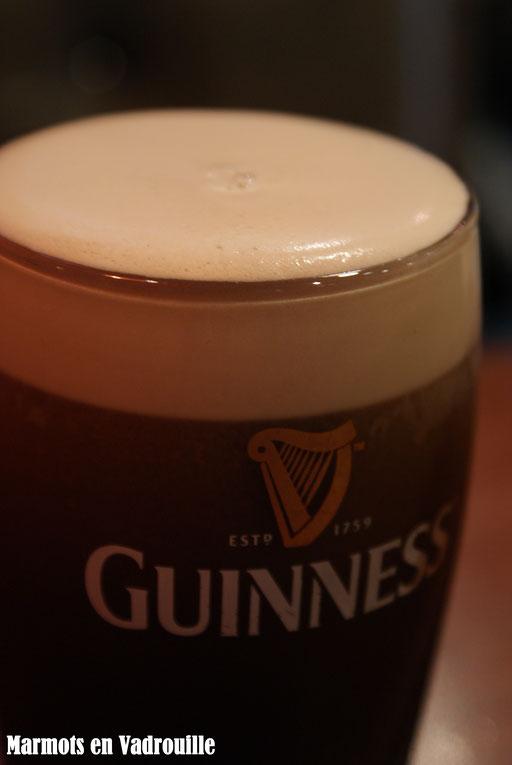bière Guinness écossaise