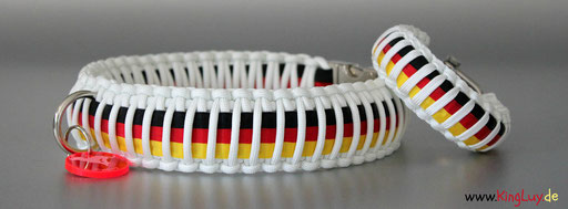KingLuy Paracord Halsband Set Germany