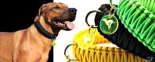Paracord Halsband, Paracord Halsbänder, Paracord Dog Collar, KingLuy