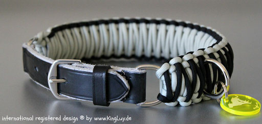 Paracord Collar protected design