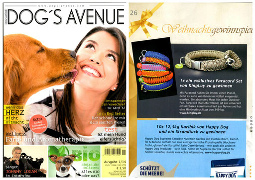 KingLuy DOG'S AVENUE 01/14