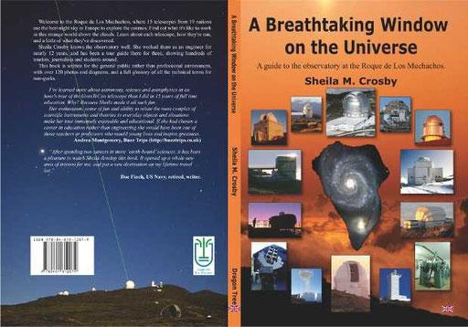 Titel und Rückseite des soeben erschienen Buchs von Sheila M. Crosby