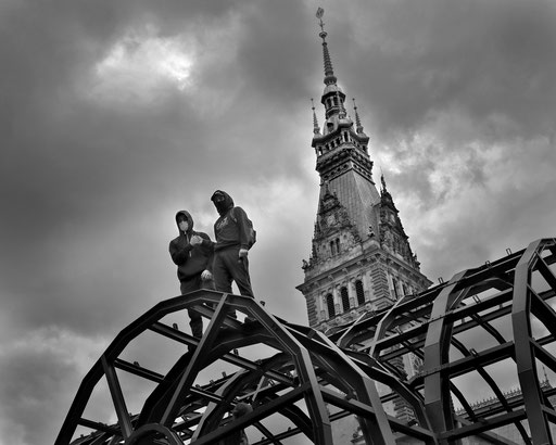 Donnerwetter - Rathaus © Andreas Muenchbach