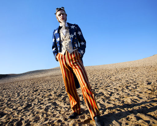 Uncle Sam, Costume by Elena ©Muenchbach
