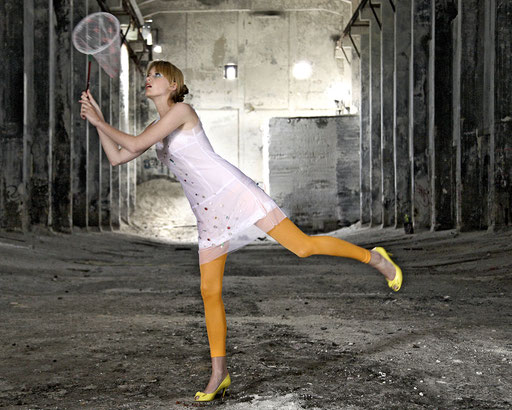 Last Minute Dress @mariamahlmann, Model Joana @okaymodels HM @carmenbottermann, Styling F. Wardenburg