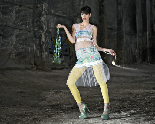 Last Minute Dress @mariamahlmann, Model Karmyn @bodyandsoul HM @carmenbottermann, Styling F. Wardenburg