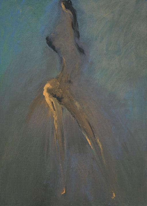Imaginaire 2021-06, acrylique sur toile, 30P