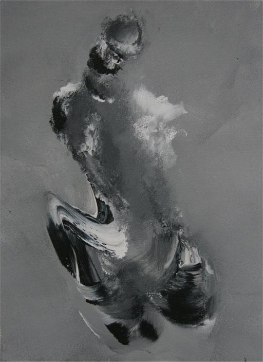 Imaginaire 2013-01 acrylique sur toile 30x 40