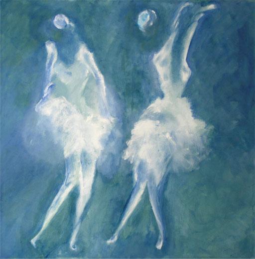 Imaginaire 2012-10 acrylique sur toile 100 x 100