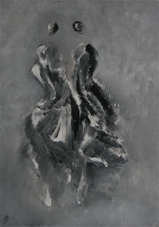 Imaginaire 2013-02 acrylique sur toile 50 x 70