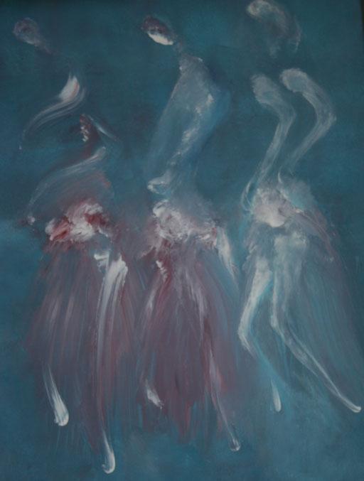 Imaginaire 2020-04, acrylique sur toile, 90 x 70
