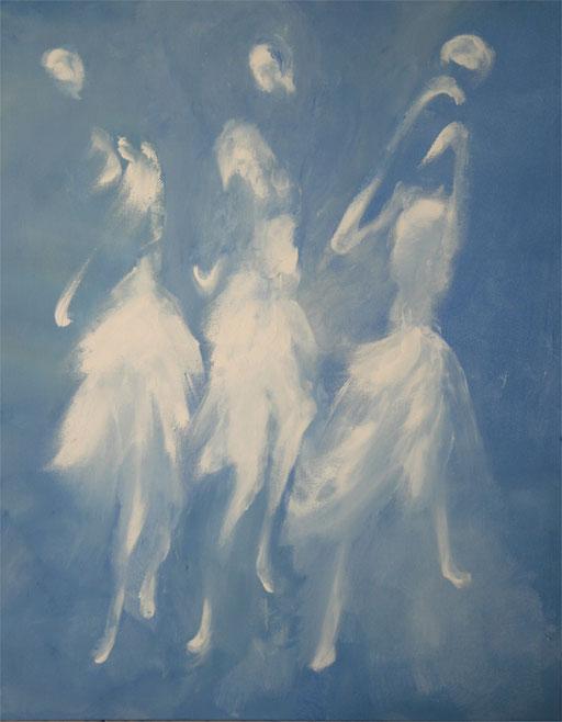 Imaginaire 2012-11 acrylique sur toile 90 x 70