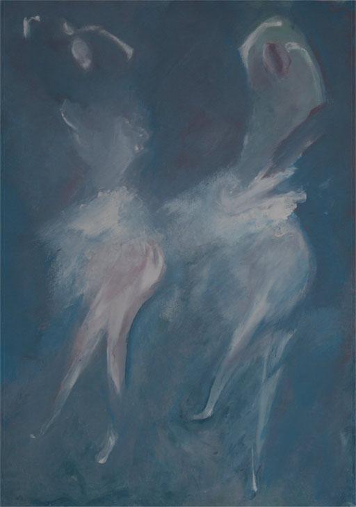 Imaginaire 2011-01 , acrylique sur toile, 70x50