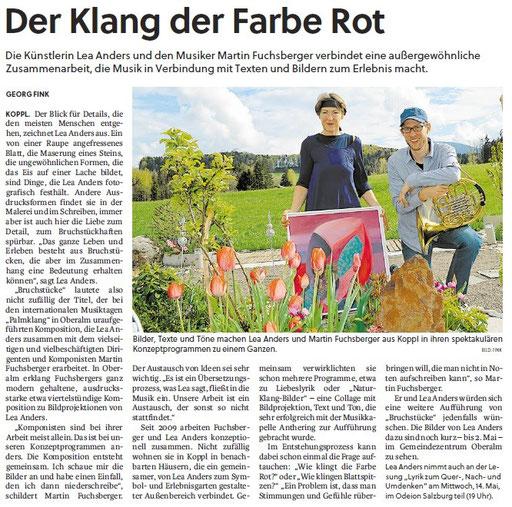 Flachgauer Nachrichten, 30. April 2014