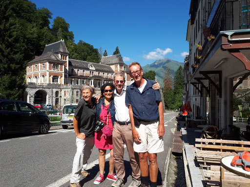 Mit Axel und Roxana in Eaux-Bonnes