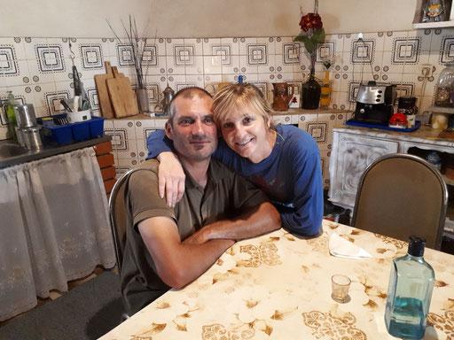 André und seine Frau