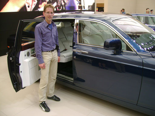 My 2011 IAA visit to Rolls Royce