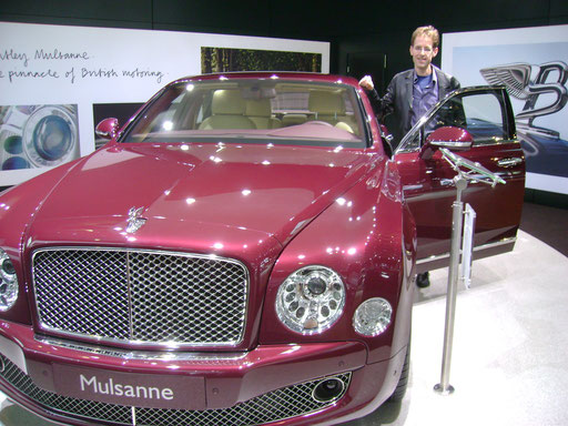 My IAA 2011 visit to Bentley
