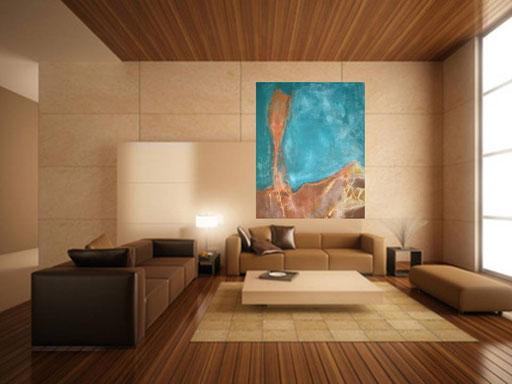 Wüstenbild 120 x 160 cm