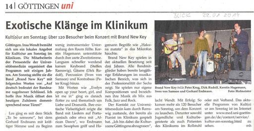 Presseartikel BLICK Göttingen
