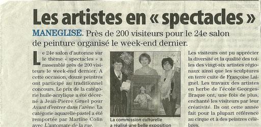 Edition presse octobre 2012