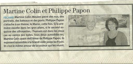 Edition presse Fécamp / Expo mai 2011
