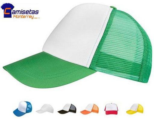 Gorras de esponja varios colores