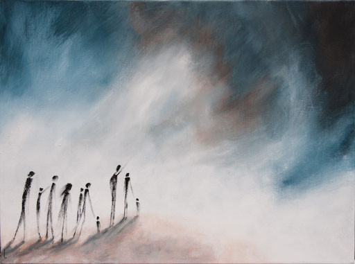 """Le Chemin"" 60 x 81cm"