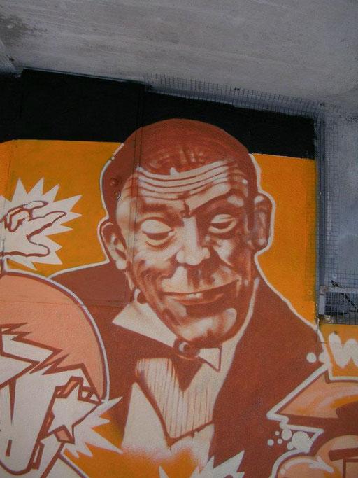 Freie Arbeit - Donnersberger Brücke / München / Karl Valentin