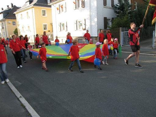 Wiesenfestumzug Schwarzenbach 2011