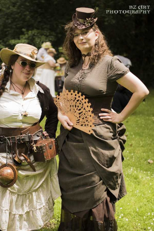 Steampunk Picknick in Karlsruhe 2015