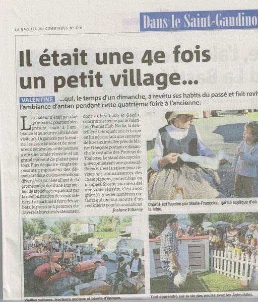 La Gazette du Comminges du 02 oct 2019