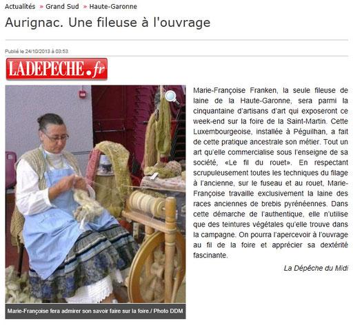 LADEPECHE.fr publié le 24/10/2013
