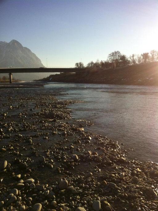 Eröffnung Alpenrhein