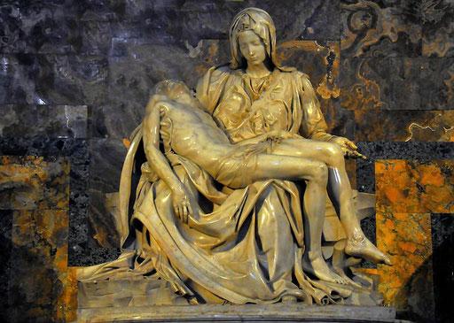 Pieta von MICHELANGELO in Rom (Petersdom)