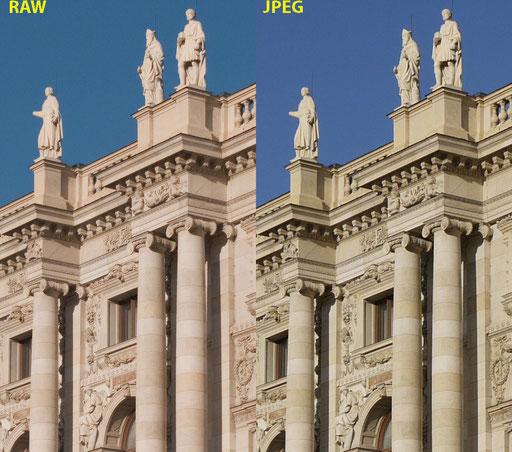 Unterschied zwischen RAW und JPEG