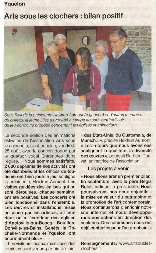 Ouest-France - 28 août 2017