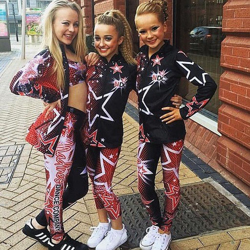 The girls from NDC England at the Brittish Campionship