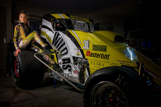 Tahli (The Dream Team) with the Wild As - Activated Industry - Sprintcar