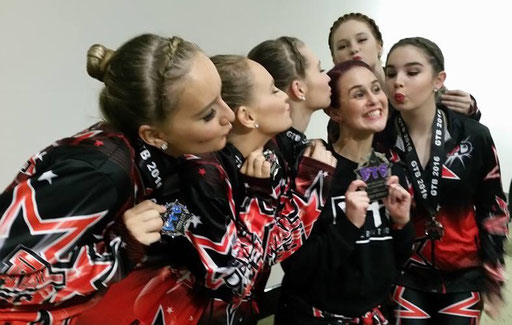 Well done to the girls from PIVOTAL DANCE - Adelaide, Australia