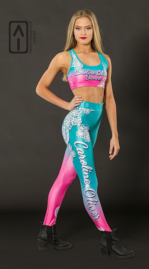 RACER BACK CROP & HIGH WAIST LEGGINGS