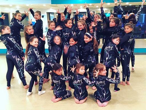 A fun pic of the girls from AVANTI, California USA