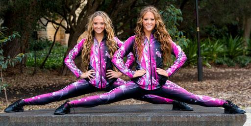 Modeled by Tegan & Sam - The Rybka Twins - Finalist, Australia's Got Tallent
