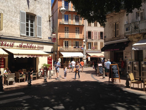 Ferien an der Côte d'Azur