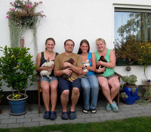 Im aktiven Ruhestand bei Familie Klein, Kleinkühnau